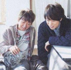 山コンビ☆大野さんと櫻井さん。