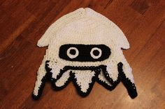Mario Blooper Hat  Available in All Sizes by ASpottedHippo on Etsy, $25.00