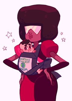 Garnet and Baby Steven   Steven Universe