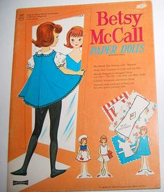 Betsy McCall Paper Doll Book