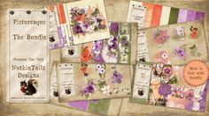 Picturesque - The Bundle by Nutkin Tailz Designs.