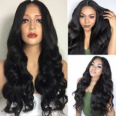 Aliceprincess 44 Silk Top Lace Front Wig Body Wave Full Lace Wig With Baby Hair For Black Women Malaysian Silk Base Full Lace Wig Bleached Knots 130denisty 1B