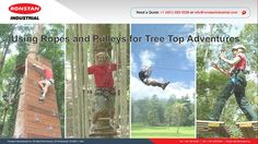 The most important element of any tree adventure is the security of high quality equipment. At Ronstan Industrial we manufacture high quality, Industrial strength block and pulley systems. Adventure Company, Tree Tops, In The Tree, Pulley, Strength, Industrial, Blog, Painting, Painting Art