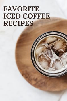 We rounded up a few of our cold coffee drink favorites for spring! Coffee Barista, Iced Coffee, Cold Coffee Drinks, Pizza And More, Cold Brew, Coffee Recipes, Other Recipes, Pizza Recipes, Italian Recipes