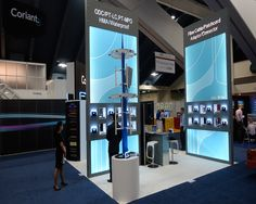 Display Stand for Hj3 during its participation in OFC at USA. Know more about Expo Display Service Middle East at http://www.expodisplayservice.ae