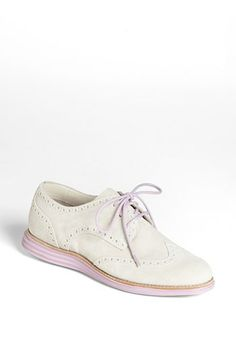 Delish : Cole Haan 'LunarGrand' Wingtip Oxford (Women) available at #Nordstrom