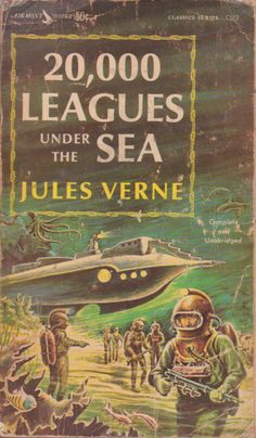 20,000 Leagues Under the Sea, Jules Verne.  Published by Airmont Books in 1963.