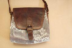 Vintage lace purse