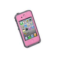 So getting this...Lifeproof iphone cover...waterproof, snow proof, mud proof, and shock proof.!!!! drop it and its all good!!