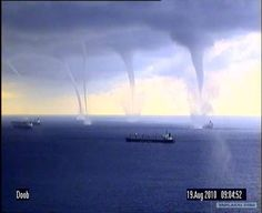 Monster Tornados in Novorossiysk