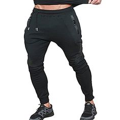 Boys Cotton Jogger Sweatpants Skull with Beard Adjustable Waist Running Pants with Pocket