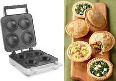 personal pie maker. Just bought one of these nifty little gadgets. I made pot pies and taco pastries. Very yummy!