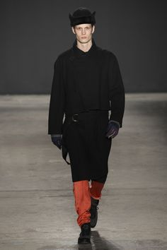 See the complete Robert Geller Fall 2017 Menswear collection.