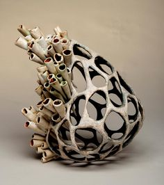 Great No Cost Ceramics sculpture Strategies Jenni Ward ceramic sculpture Sculptures Céramiques, Art Sculpture, Pottery Sculpture, Abstract Sculpture, Ceramic Sculptures, Bronze Sculpture, Ceramic Clay, Ceramic Pottery, Slab Pottery