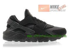 Nike Air Huarache - Chaussure Nike Sportswear Pas Cher Pour Homme Noir 318429-003