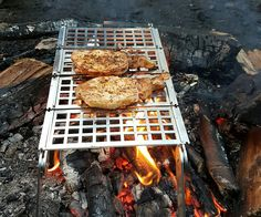 Braaibeque home of the best quality Stainless Steel BBQs . Showing you that you can cook anything that can be cooked in an oven, on our BBQ Camping Grill, Grilling, Bbq Equipment, Sticky Toffee Pudding, Stainless Steel Bbq, Food Grade, Waffles, Roast, Oven