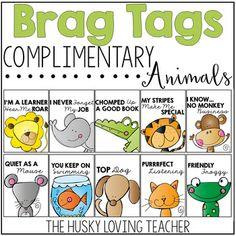 The Husky Loving Teacher Classroom Behavior Management, Behaviour Management, Brag Tags, Kindergarten Graduation, Student Motivation, Beginning Of School, Teaching Tips, School Fun, Preschool Activities