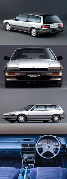 1986 Honda Accord Aerodeck / shooting brake / Japan / silver / 17-261