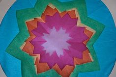 Cut Tissue Paper Stained Glass Circles