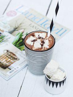 Seelenfutter: Heiße Schokolade mit Marshmallows
