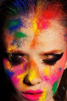 Institute Beauty Magazine Photo - Nadja Friesen Make up/ Hair/ Nails- Kate Mur | fantasy | colors