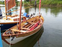 Ness Yawl, designed by Iain Oughtred