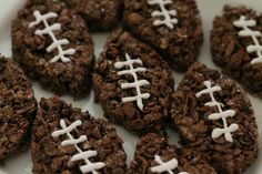 Football Cocoa Krispies - cute and simple!