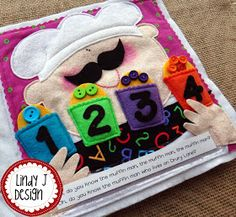 Lindy J Design: New Quiet Books to Share!
