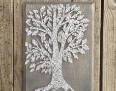 Αποτέλεσμα εικόνας για string art tree