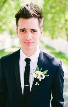 Brendon Urie. from panic! at the disco <3 wedding.
