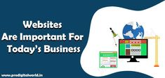 Websites are important for today's business very much. Because we all know the value of the internet in today's world. We are one of the best digital agency in Delhi NCR and we know the power of the internet is so much, we all know it that most of the population is using the internet. Delhi Ncr, Internet, Content, Website, Digital, Business, World, Store, The World