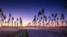 Frozen sunrise in Finland [1920x1080]
