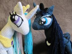 Princess Luna Pattern  My Little Pony by NerdyKnitterDesigns, $4.95