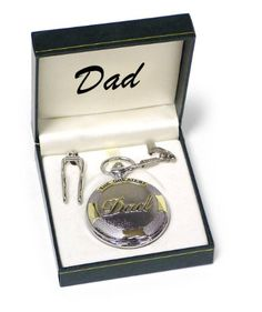 Dad Pocket Watch Fathers Day Gift Item 266 -- Click image for more details. #Fathersdaygift