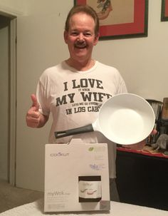 I won this beautiful Cookut Eco Friendly 11 inch Ceramic Wok worth $100- for only $1.87 on #DealDash, with just 17 bids!  Now that's what's cooking! Thanks DealDash for another great deal!