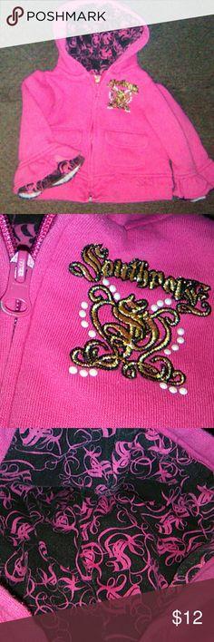 Southpole Hoodie Sweatshirt Girls size 12 month sweatshirt Like New Ships quickly Southpole Shirts & Tops Sweatshirts & Hoodies