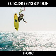 The most popular surfing locations in the UK! Surfing Uk, Uk Beaches, Kitesurfing, About Uk, Waves, Popular, Inspiration, Biblical Inspiration, Most Popular