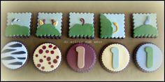 Do Açúcar Com Amor - Jungle Cake Cookies - Diogo doacucarcomamor.blogspot.pt