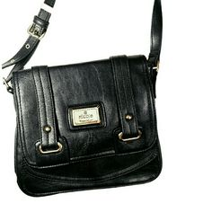 861b2a2670cd Nicole by Nicole Miller purse Vintage Nicole miller Cross body Two interior  sections