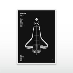 Celebrating 30 years of the NASA Space Shuttle Program. First in the series, Space Shuttle Atlantis pays homage to the programs final mission in July 2011.