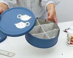Easy Project, Tea Bag Storage