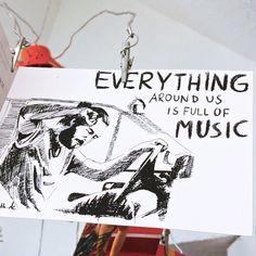Everything around is full of music