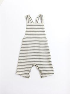 TO WEAR (Twill Stripe Overall | noch mini)