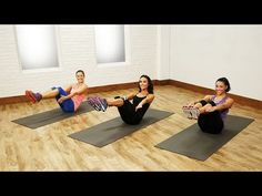 Calorie Busting Barry's Bootcamp Workout | Class FitSugar - YouTube