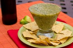 Salsa Verde- always wanted to make this. Maybe have a 'salsa' party with diff kinds and guac.