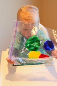 Malen für Kleinkinder, super Idee