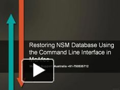 PPT – Restoring NSM Database Using the Command Line Interface in McAfee PowerPoint presentation Security Technology, Security Tools, Ppt Presentation, Line, Restoration, Australia, Words, Fishing Line, Horse