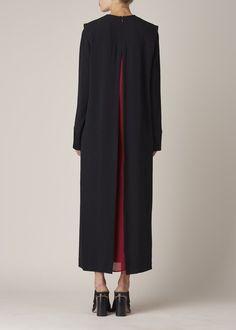 Haider Ackermann Glyzinie Dress (Black)