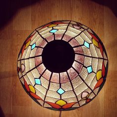 Vintage Stainedglass lamp