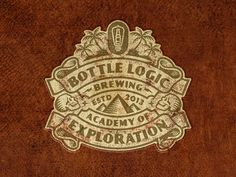 Bottle Logic 2018 Academy of Exploration Logo by Emrich Office